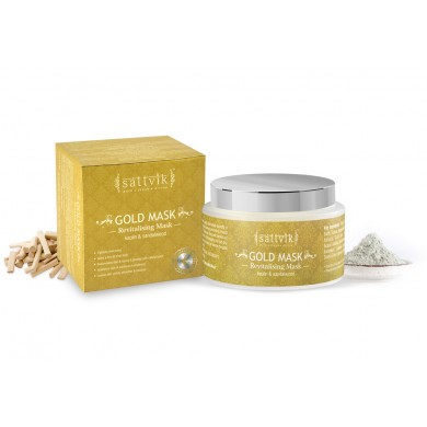 Gold Mask - Revitalizing Mask, With Kaolin & Sandalwood 100gm