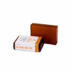 Nirvaana Handmade Natural Orange Honey Soap 100g