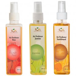 Soil Fragrances Air Freshener (Pack of 3)