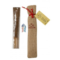 Soil Fragrances Handmade Sandalwood Incense Sticks (Pack of 40)
