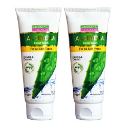 Pure Aloe Vera facial wash Pack of 2
