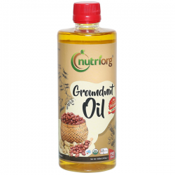 Nutriorg Groundnut Oil - 500ml