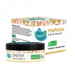 Vegetal® Papaya Face pack 50gm