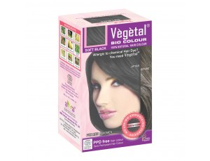 VEGETAL BIO COLOUR SOFT BLACK 50 GMS