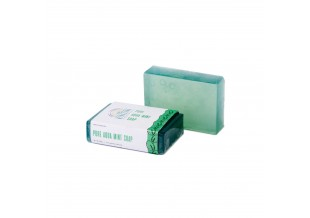 Nirvaana Handmade Natural Aqua Mint Soap 100g