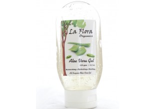 La Flora Organics Aloe Vera Gel -all Purpose Gel-unscented-120 Gms