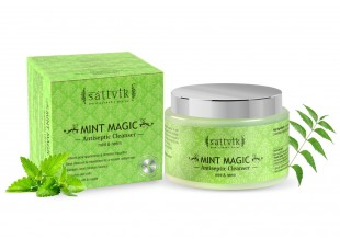 Mint Magic - Clarifying Face Cleanser, With Mint & Neem 100gm