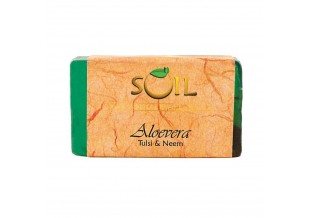 Soil Fragrances Handmade Ayurvedic Soap Aloevera