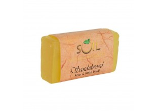 Soil Fragrances Handmade Ayurvedic Soap Sandalwood