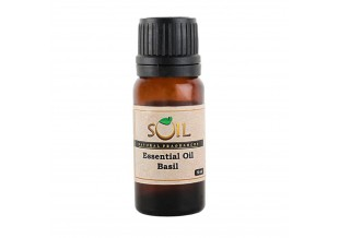 Soil Fragrances Basil Essential Oil 10 Ml