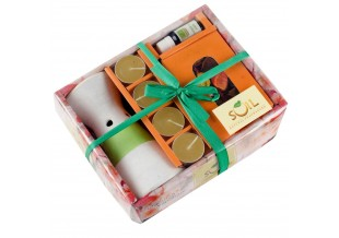 Aroma Gift Set With Jasmine Vaporizer Oil And 4 Tea Light Candles