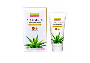 Pure Aloe Vera Skin Gel (with Almond Oil)