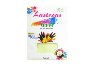Lustrous Herbal Gulal- Premium Neon Colours- Neon Green