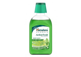 Himalaya Active Fresh Mouthwash (saunf And Mint) 215ml