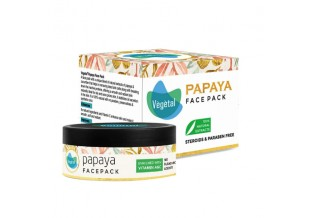 Vegetal Papaya Face Pack 50g