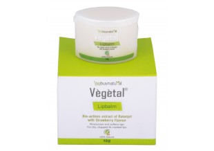 Vegetal Strawberry Lipbalm 10g