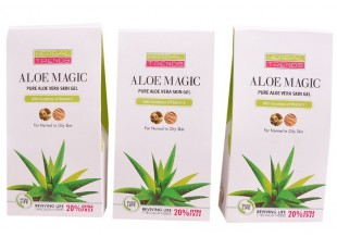 Pure Aloe Vera Skin Gel (with Vitamin-e.)       Pack Of 3