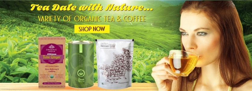 organic green tea, organic tea, organic coffee