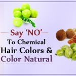 Say 'NO' to Chemical Hair Colors and Color Natural