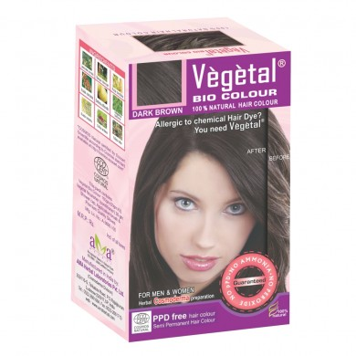 VEGETAL BIO COLOUR DARK BROWN 150