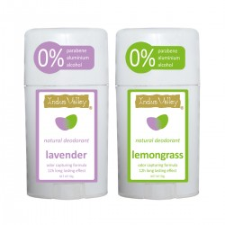 Indus Valley Deo Stick Combo Of Lavender And Lemongrass 100g