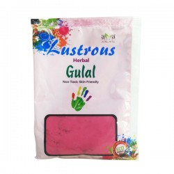 Lustrous Herbal Gulal - Pink