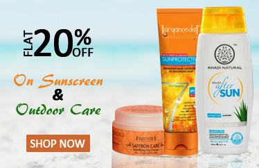 Flat 20% off on Sunscreen Lotion