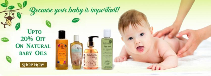 Natural Baby Oil, Organic Baby Oils, Baby Massage Oil