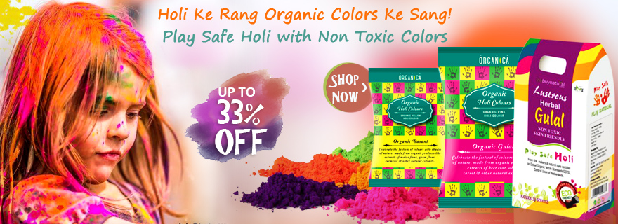 Upto 33% off on Herbal Gulal