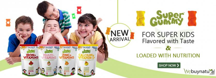 Super Gummy for Super Kids Flavored with Taste & Loaded with Nutrition