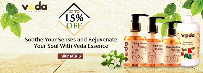 15% off On Vedaessence