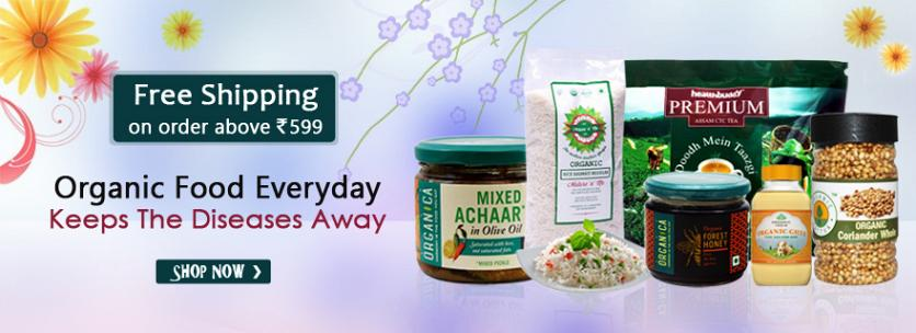 Free Shipping On Organic Grocery