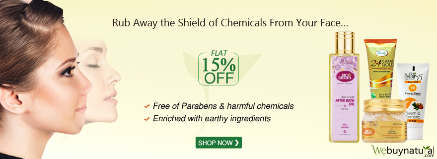 Flat 15% Off On Face Wash and Scrub